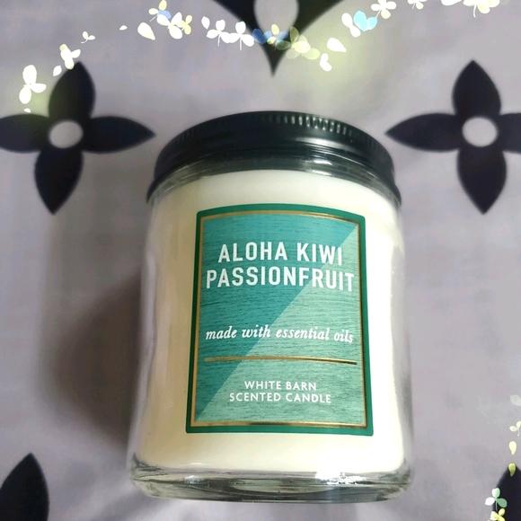BBW ❤ Aloha Kiwi Passionfruit Candle